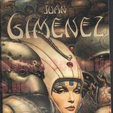 Cómics: JUAN GIMÉNEZ SKETCHBOOK LIBRO DE BOCETOS/ILUSTRACIÓN FIRMADO BIG WOW. Lote 223473930