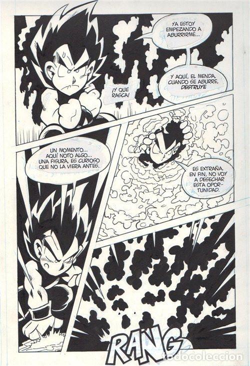 PÁGINA ORIGINAL DE NACHO FERNÁNDEZ : DRAGONFALL 43 PG 1 (Tebeos y Comics - Art Comic)