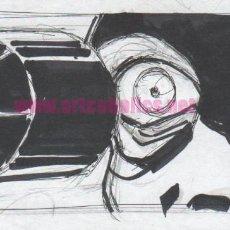 Comics : BOCETO ORIGINAL DE CARLOS PACHECO PARA ULTIMATE AVENGERS FIRMADO. Lote 200778616