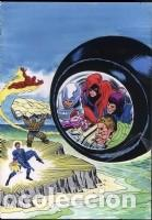 PORTADA ORIGINAL DE LOPEZ ESPI LOS 4 FANTASTICOS (Tebeos y Comics - Art Comic)