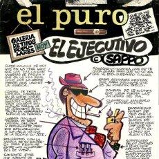 Cómics: DIBUJO ORIGINAL DE MANUEL VÁZQUEZ - SAPPO - EL EJECUTIVO, EL PURO 1980. Lote 202710221