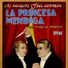 Cómics: DIBUJO ORIGINAL DE ENRIQUE ESTÉVEZ OCHOA - LA PRINCESA MENDIGA POR HUGO DE AMÉRICA N.41. Lote 202996458