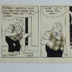 """Comics : TIRA CÓMICA ORIGINAL """"BRINGING UP FATHER"""" (1971), DE HAL """"CAMP"""" CAMPAGNA Y BILL KAVANAGH. Lote 204398691"""