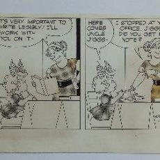 """Comics : TIRA CÓMICA ORIGINAL """"BRINGING UP FATHER"""" (1971), DE HAL """"CAMP"""" CAMPAGNA Y BILL KAVANAGH. Lote 204400411"""