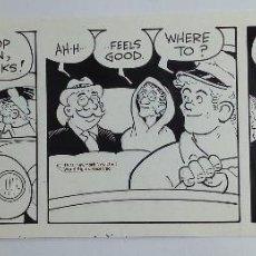 "Comics : TIRA CÓMICA ORIGINAL -COMIC STRIP- ""MOON MULLINS"", DE FERD JOHNSON, (NEW YORK NEWS INC. 1971). Lote 204408312"