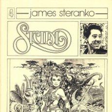 Comics: STUDIO 4. (FANZINE DEDICADO A JAMES STERANKO). Lote 204600750