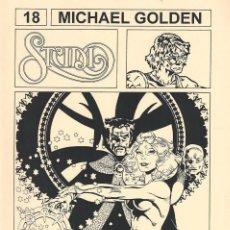 Comics: STUDIO 3. (FANZINE DEDICADO A MICHAEL GOLDEN). Lote 204602116