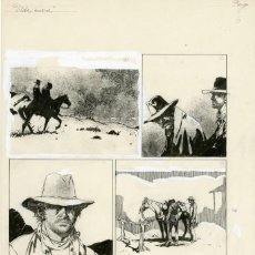 Cómics: DIBUJO ORIGINAL DE ARTURO DEL CASTILLO - VIDA NUEVA P.6, EDITORIAL RECORD. Lote 205140366