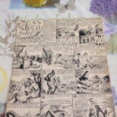 Comics : PÁGINA DE FRANCISCO DARNÍS PARA EDITORIAL MARCO AÑOS 30. Lote 205361045