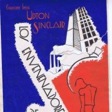 Cómics: PORTADA ORIGINAL DE 1932 PARA LA NOVELA LOS ENVENENADORES DE CHICAGO. Lote 205522043