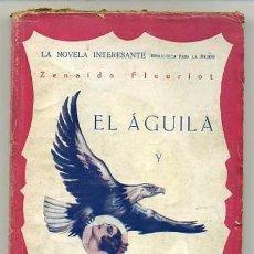 Cómics: PORTADA ORIGINAL YORK PARA LA NOVELA EL HALCÓN Y LA PALOMA DE 1928. Lote 205524081
