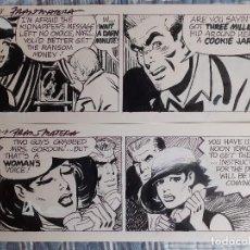 Comics: 2 ORIGINALES FRANK MATERA - STEVE ROPER DETECTIVE FIRMADO. Lote 205796927