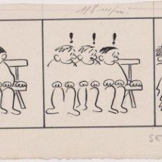 Cómics: ALAVEDRA (JOSEP MARIA ALAVEDRA DURAN) TERRASSA, 1932 - TERRASSA 2007 DIBUJO ORIGINAL PUBL EN PATUFET. Lote 206441847