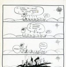 Cómics: DIBUJO ORIGINAL DE FER - SO MOOO LOS CHICOOS, REVISTA EL PAPUS N.167 P.19, AÑO 1977. Lote 207283692
