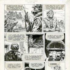 Cómics: DIBUJO PRIGINAL DE JUAN ZANOTTO - NEW YORK ANNO ZERO, EPISODIO 1, P.10, EDITORIAL RECORD. Lote 211660039