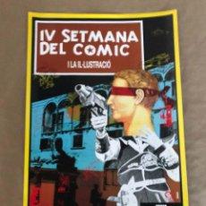 Cómics: SEMANA DEL COMIC, PALMA DE MALLORCA, 1988. MANEL RUBIALES.. Lote 212135865