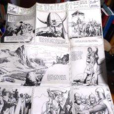 Cómics: HAL FOSTER. PRÍNCIPE VALIENTE. REPRODUCCIÓN FACSÍMIL DEL ORIGINAL DEL 28/ ENERO/ 1940.. Lote 212407326