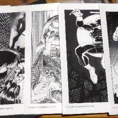 Cómics: JOHN ROMITA JR. 5 ILUSTRACIONES DE DAREDEVIL, DE UN PORTAFOLIO QUE INCLUÍA 6. MARVEL 1991.. Lote 212487645