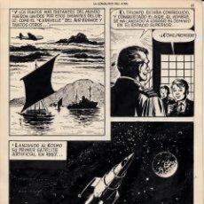 Cómics: JORDI BERNET CUSSÓ CREADOR DE TORPEDO ORIGINAL PUBLICADO LA CONQUISTA DEL AIRE. Lote 207439275