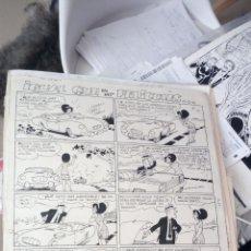 Cómics: RAF RAFART ORIGINAL A TINTA 44 X 32 PUBLICADO EN TBO Nº 449. Lote 213507655