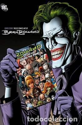 COVER STORY: THE DC COMICS ART OF BRIAN BOLLAND - LIBRO DE ILUSTRACIÓN EN INGLÉS (Tebeos y Comics - Art Comic)