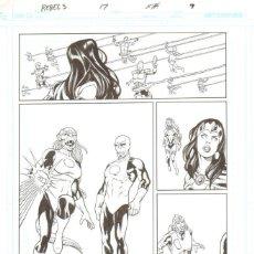 Cómics: ORIGINAL R.E.B.E.L.S (GREEN CORPS / ADAM STRANGE) - SERGIO ARIÑO. Lote 214155003