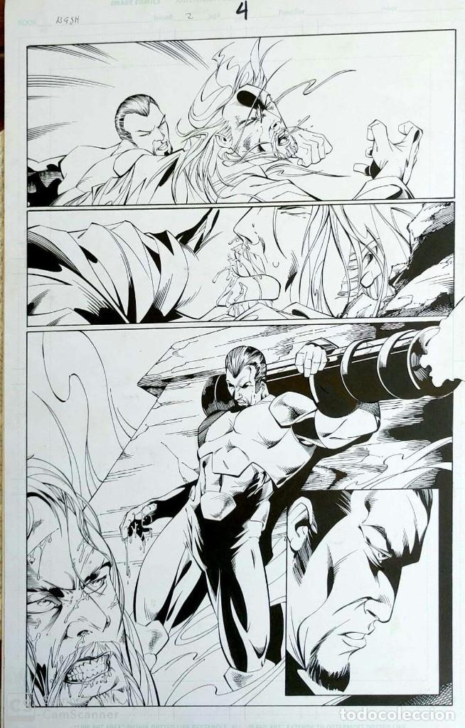ORIGINAL NASH - MARAT MYCHAELS (Tebeos y Comics - Art Comic)