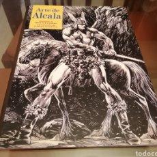 Cómics: ALFREDO ALCALÁ ARTE DE ALCALÁ ED. MANUEL CALDAS CONAN. Lote 244021935