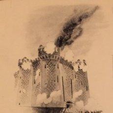 Cómics: LA TOMA DE LA BASTILLA. DIBUJO ORIGINAL, MONNERAT (SUIZA 1917- ESP 2005). Lote 219893987