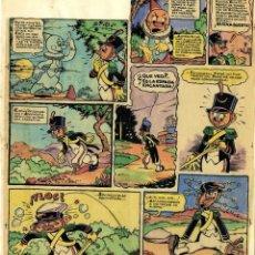 Cómics: DIBUJO ORIGINAL DE JESÚS BLASCO - ANITA DIMINUTA, LA MALVADA BRUJA CARRASPIA P.20, MIS CHICAS N.65. Lote 220364788