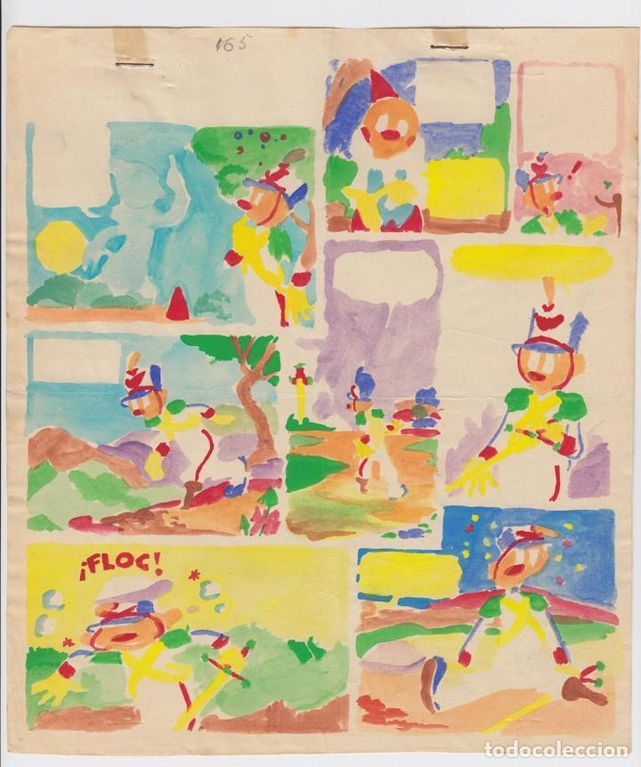 Cómics: Dibujo Original de Jesús Blasco - Anita Diminuta, La Malvada Bruja Carraspia p.20, Mis Chicas n.65 - Foto 3 - 220364788