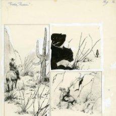Cómics: DIBUJO ORIGINAL DE ARTURO DEL CASTILLO - VIDA NUEVA P.2, EDITORIAL RECORD. Lote 220365325