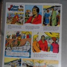 Cómics: PRUEBA DE IMPRESIÓN PARA EL PRÍNCIPE VALIENTE. 27 DE JUNIO DE 1965. Lote 221491603
