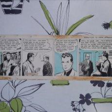 Cómics: MILTON CANIFF , TIRA DE TERRY Y LOS PIRATAS DE 1938 CON PERSONAJES PRINCIPALES EN LAS 4 VIÑETAS. Lote 221702971