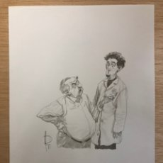 Comics : DIBUJO ORIGINAL MIGUELANXO PRADO. 21X29,5CM. Lote 221728230