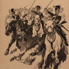 Cómics: LA BATALLA DE WATERLOO , DE PIERRE MONNERAT (SUIZA 1917- ESPAÑA 2005). Lote 221943436