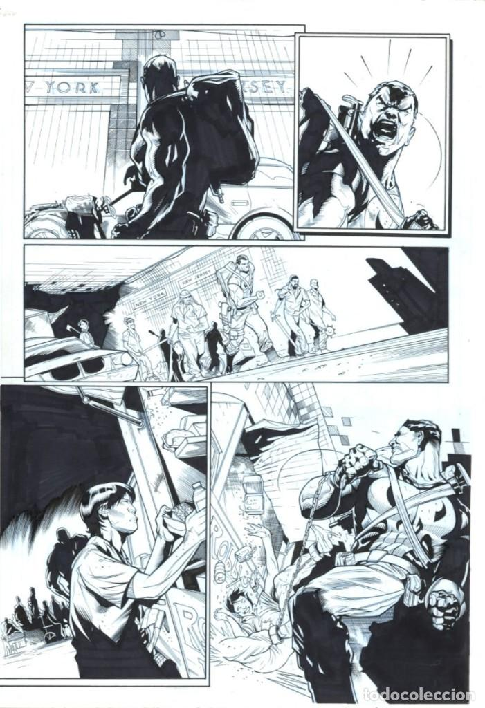 ORIGINAL PUNISHER (EL CASTIGADOR) - FERREIRA / P0GGI (Tebeos y Comics - Art Comic)