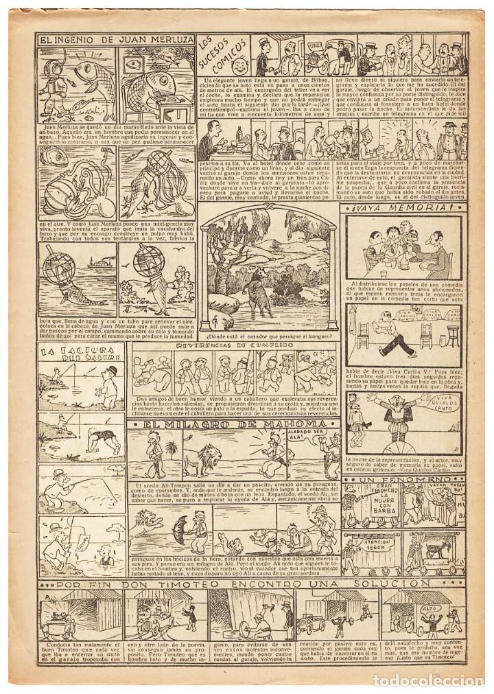 Cómics: Original de Benejam : La factura del sastre, publicado en el TBO número 937 de 1935 - Foto 2 - 222423307