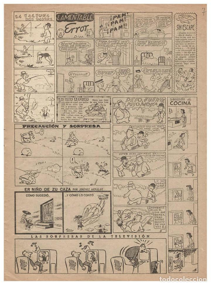 Cómics: Original de Benejam : La factura del sastre, publicado en el TBO número 937 de 1935 - Foto 3 - 222423307