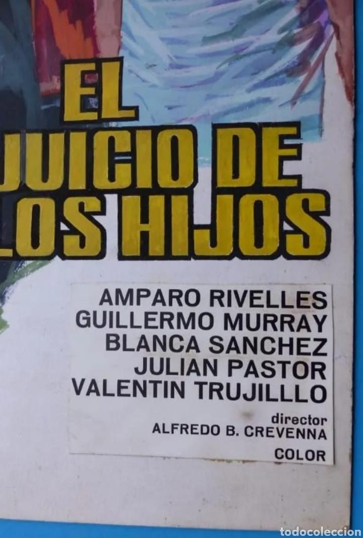 Cómics: EL JUICIO DE LOS HIJOS. AMPARO RIVELLES. CARTEL ORIGINAL DE MONTALBAN - Foto 2 - 222425371