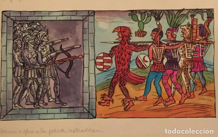 LA CONQUISTA DEL NUEVO MUNDO POR PIERRE MONNERAT (SUIZA 1917- ESPAÑA 2005) (Tebeos y Comics - Art Comic)