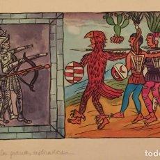 Cómics: LA CONQUISTA DEL NUEVO MUNDO POR PIERRE MONNERAT (SUIZA 1917- ESPAÑA 2005). Lote 222442340