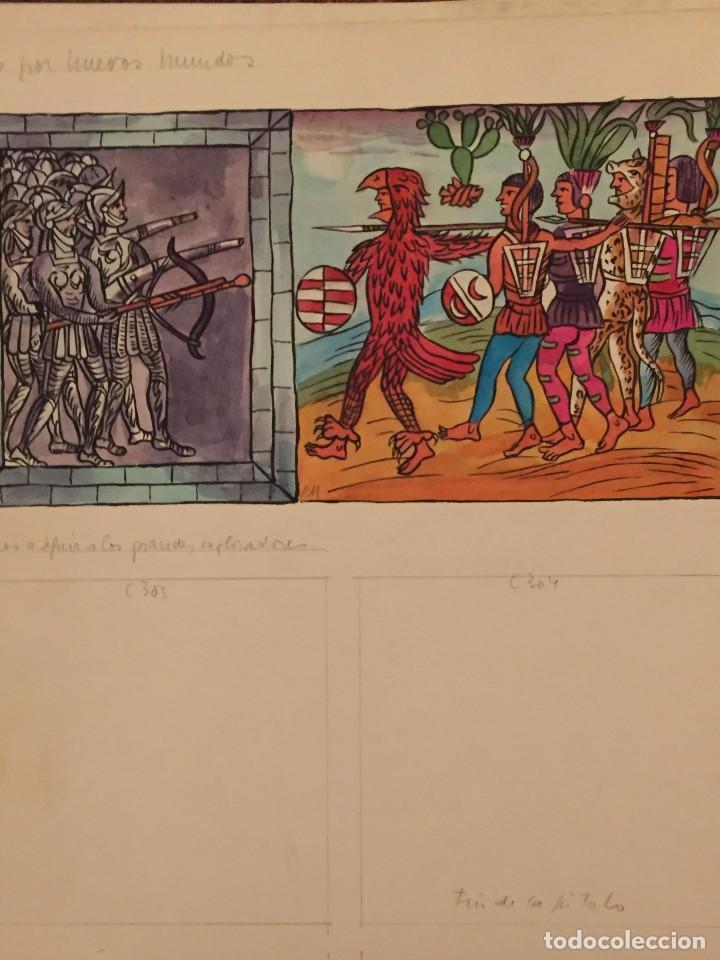 Cómics: La Conquista del Nuevo mundo por Pierre Monnerat (Suiza 1917- España 2005) - Foto 2 - 222442340