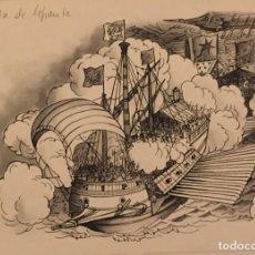 Cómics: LEPANTO,LA BATALLA DE. PIERRE MONNERAT (SUIZA 1917- ESPAÑA 2005). Lote 222467056