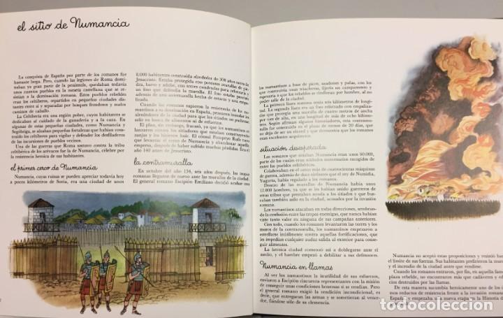 Cómics: El sitio de Numancia. Obra original de Pierre Monnerat (Suiza 1917- España 2005) - Foto 2 - 222590842