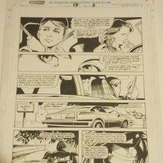Cómics: ROBOCOP #17 PAGE 5 MARVEL 1991 POR LEE SULLIVAN Y HARRY CANDELARIO LAS TINTAS. Lote 222632010