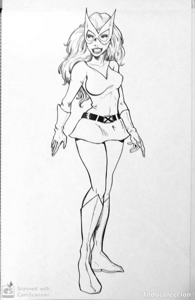2 ORIGINALES JEAN GREY (ORÍGENES + FÉNIX) (Tebeos y Comics - Art Comic)