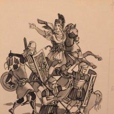 Cómics: LAS GUERRAS PÚNICAS. OBRA ORIGINAL DE PIERRE MONNERAT (SUIZA 1917- ESPAÑA 2005). Lote 222694726