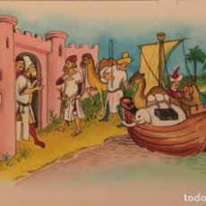 Cómics: EL COMERCIO MARÍTIMO EN SIGLOS XIV Y XV, MONNERAT (SUIZA 1917- ESP 2005). Lote 223137372
