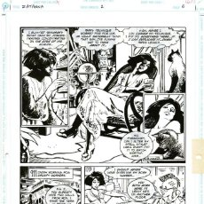 Cómics: DIBUJO ORIGINAL DE ESTEBAN MAROTO - ZATANNA, N.2 P.6, DC COMICS 1993. Lote 223218710